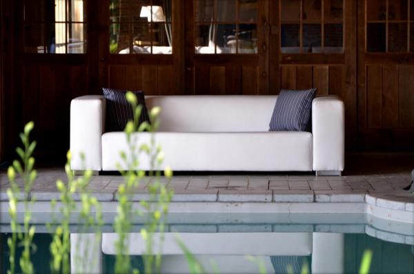 Gartensofa 2-Sitzer wetterfest Rhodos, Ambiente