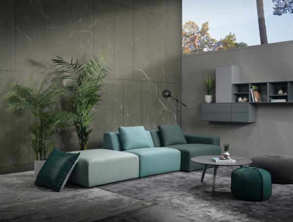 Lounge Modulsofa Furninova Box, Ambiente