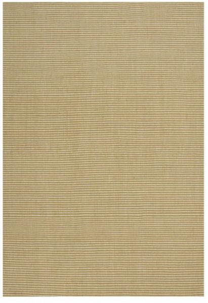 Linie Design Ajo Streifen Teppich Wolle Yellow