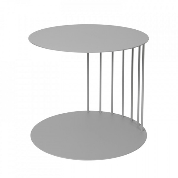 Stahl Beistelltisch asymmetrisch Broste Tone, Drizzle
