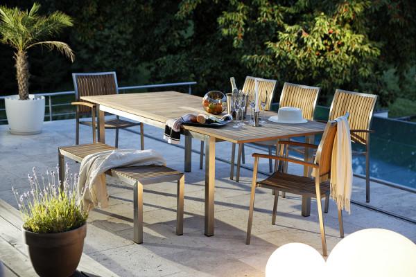 Diamond Garden Roma Ausziehtisch, Ambiente