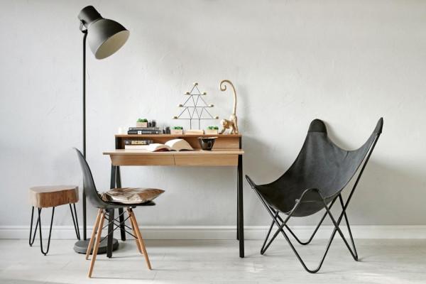 Schreibtisch skandinavisch Eiche