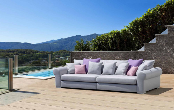 Garten Sofa im Landhaus Stil Gand