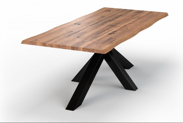 Bodahl Esstisch mit Baumkante Chicago