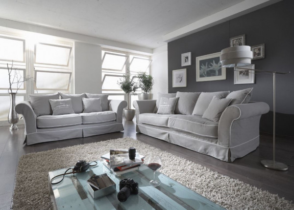 Hussen Sofa Cottage Stil Primavera Kore