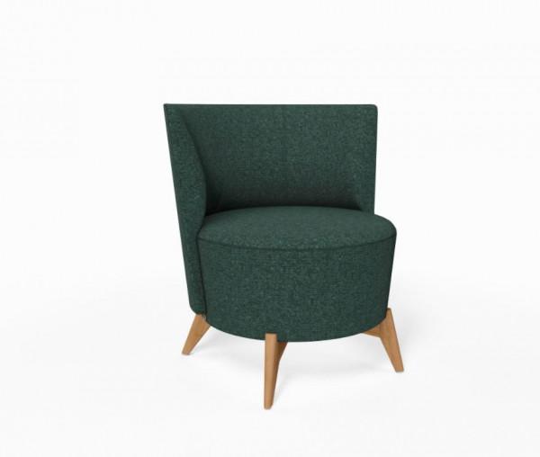 Mobitec Bolero Lounge Sessel rund, Bezug Biarritz